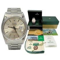 Rolex Datejust 16220 Good Silver 35mm Automatic