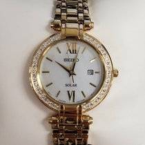 Seiko Solar Steel 30mm Mother of pearl United States of America, New York, Brooklyn