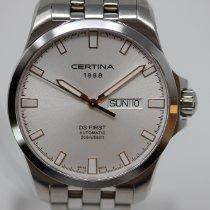 Certina DS First Stahl 40mm Silber