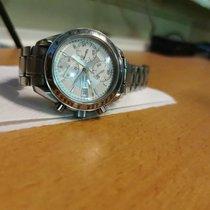 Omega Speedmaster Date Steel Silver No numerals