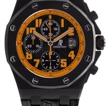 Audemars Piguet Royal Oak Offshore Chronograph Volcano Сталь 42mm Чёрный Aрабские