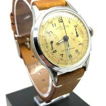 Favre-Leuba 34mm Handopwind Favre-Leuba vintage chronograph tweedehands Nederland
