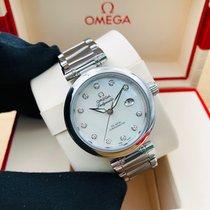 Omega yeni Otomatik Arka kapağı transparan Kronometre 34mm Çelik