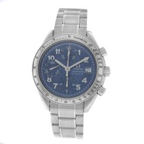 Omega Speedmaster Date Steel 38mm Blue Arabic numerals United States of America, New York, New York