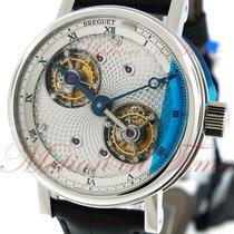 Breguet Platinum Manual winding Silver Roman numerals 44mm new Classique Complications