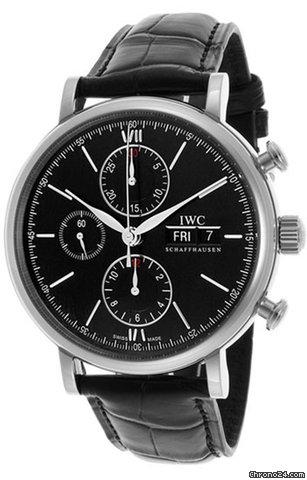 IWC Portofino Chronograph IW391008 2012 new