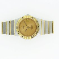 Omega Constellation Chronometer Stahl/18k 750er Gelbgold...