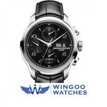 Baume & Mercier Clifton Dark Dial Chronograph Watch 43 MM...