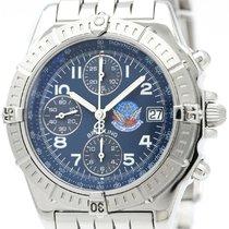 Breitling Chronomat Blue Impulse Steel Automatic Watch A13353...
