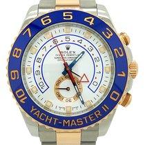 Rolex Yacht Master II 18k Rose Gold & Steel 44mm Men's Watch...