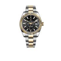 Rolex neu Automatik Chronometer 42mm Gold/Stahl Saphirglas