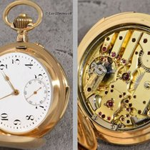 West Switzerland rare 14K G. Minute Repeater~excentric mounted...