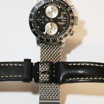 Fortis Chronograf 42mm Automatika použité Černá