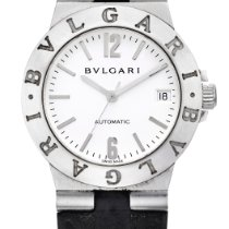 Bulgari -, Reference Lc W 35 G A White Gold Wristwatch With...