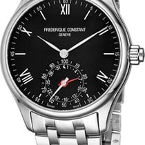 Frederique Constant Horological Smartwatch Steel Black United States of America, New York, Brooklyn