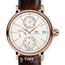 IWC Portofino Hand-Wound Red gold 45mm Silver No numerals