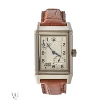 Jaeger-LeCoultre Reverso Grande Date pre-owned 46mm Steel
