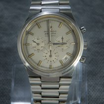 Zenith El Primero Chronograph Steel 38mm Silver No numerals