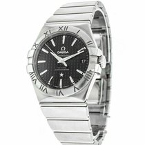 Omega Constellation Ladies Steel 35mm Black