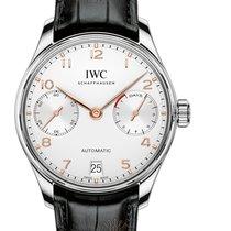 IWC Portugieser Automatik neu Automatik Uhr mit Original-Box und Original-Papieren IW500704