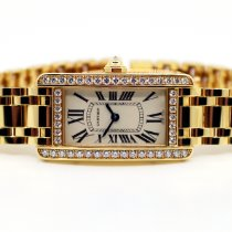 Cartier Yellow gold 34,8mm Quartz WB7072K2 new