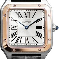 Cartier Santos Dumont Gold/Steel 27.5mm Silver United States of America, New York, Airmont