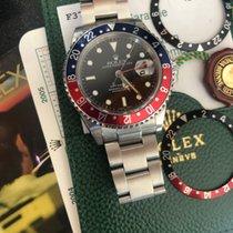 Rolex Staal Automatisch Zwart Geen cijfers 40mm tweedehands GMT-Master II