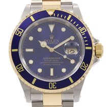 Rolex Submariner Date 40mm Azul