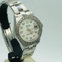 Rolex Oyster Perpetual Lady Date Steel 26mm Mother of pearl United Kingdom, romford