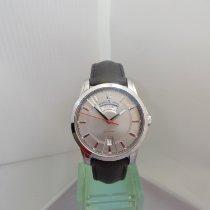 Maurice Lacroix Pontos Day Date Stahl 40mm Silber Schweiz, Crans Montana