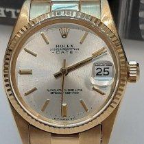 Rolex 6827 Or jaune 1978 Datejust 31mm occasion