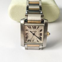 Cartier 2302 White gold Tank Française 28mm pre-owned United States of America, Wyoming, Sheridan, WY