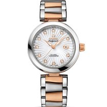 Omega De Ville Ladymatic Gold/Steel 34mm Mother of pearl No numerals United Kingdom, London