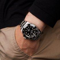 Rolex Sea-Dweller Deepsea Zeljezo 43mm Crn