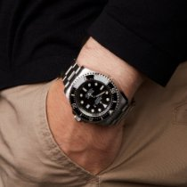 Rolex Sea-Dweller Deepsea Ocel 43mm Černá