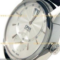 Oris Artelier Jumping Hour Leather Digital Hours 917 7702 4051