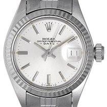 Rolex Ladies Rolex Date Watch Stainless Steel 6917 Silver Dial