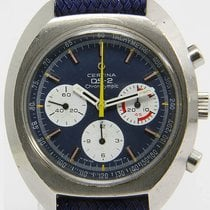 Certina Chronograph 43mm Handaufzug 1975 gebraucht