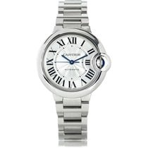 Cartier Ballon Bleu 33mm Stainless Steel Watch