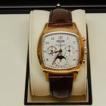 Patek Philippe Yellow gold Automatic pre-owned Perpetual Calendar Chronograph