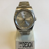 Rolex Oyster Perpetual no date silver dial from 2010 and newer