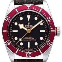 帝陀 (Tudor) Heritage Black Bay 41 Burgundy Disc Aged Leather...