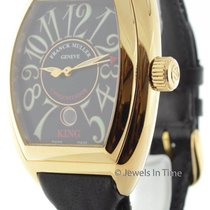 Franck Muller Mens 8001 SC King Conquistador 18K Yellow Gold...