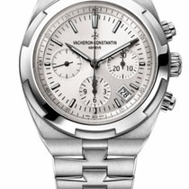 Vacheron Constantin 5500V/110A-B075 Steel 2019 Overseas Chronograph 42.5mm new