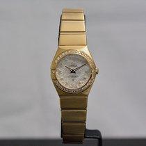 Omega Constellation Diamonds Quartz 24mm / Box & Papers /...