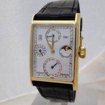 IWC Novecento Жёлтое золото Белый