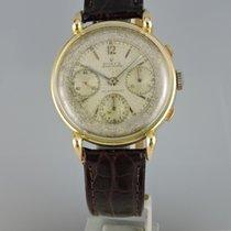Rolex Chronograph Gold/Stahl 37mm Silber
