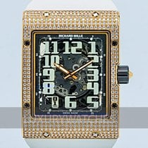 Richard Mille RM 016 usados 49.8mm Oro rosado