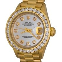 Rolex Lady-Datejust Yellow gold 25mm Mother of pearl No numerals United States of America, Texas, Dallas