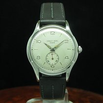 Ernest Borel 35.3mm Manual winding pre-owned Silver
